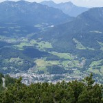 The town of Berchtesgaden
