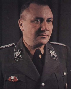 The man behind the idea: Reichsleiter Martin Bormann