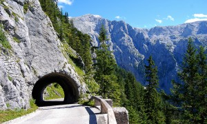 The stunning Schwalbenesttunnel